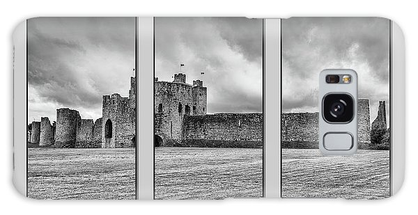 Trim Castle Triptych  Galaxy Case by Martina Fagan