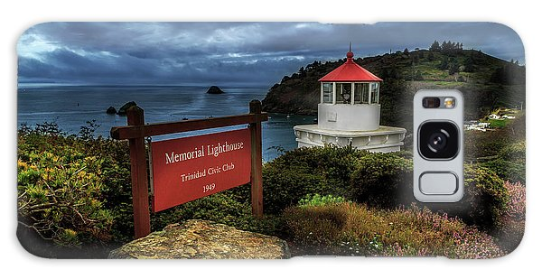 Galaxy Case featuring the photograph Trinidad Memorial Lighthouse by James Eddy