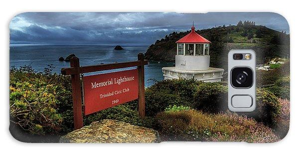 Trinidad Memorial Lighthouse Galaxy Case by James Eddy