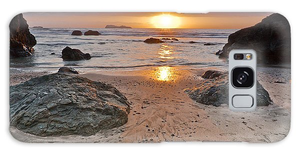 Trinidad State Beach Sunset Galaxy Case by Greg Nyquist
