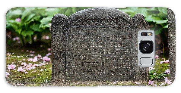 Trinity Church Tombstone Galaxy Case