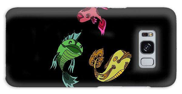 Trio Fish Galaxy Case