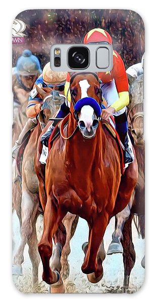 Triple Crown Winner Justify 2 Galaxy Case