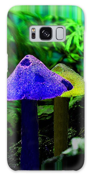 Trippy Shroom Galaxy Case