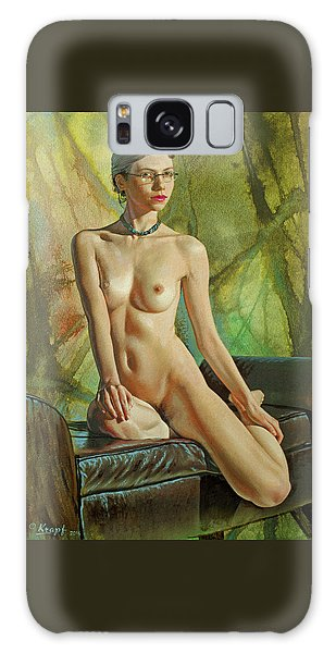 Nudes Galaxy Case - Trisha 235 In Abstract by Paul Krapf