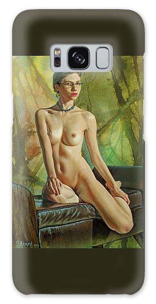 Nudes Galaxy Case - Trisha 235 In Abstract by Paul Krapf