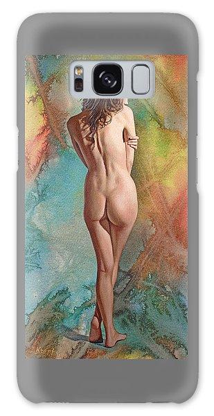 Nudes Galaxy Case - Trisha - Back View by Paul Krapf