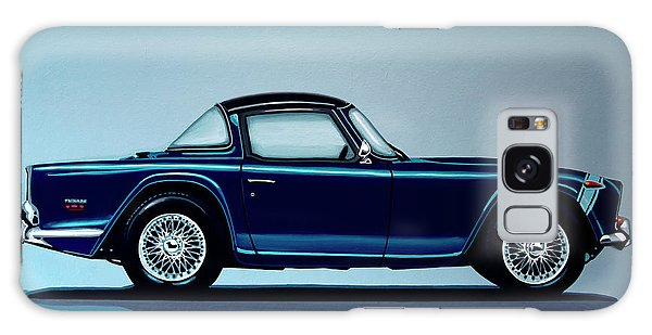 Motor Galaxy Case - Triumph Tr5 1968 Painting by Paul Meijering