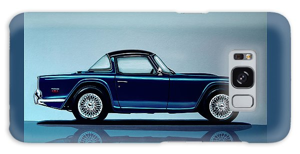 Coupe Galaxy Case - Triumph Tr5 1968 Painting by Paul Meijering