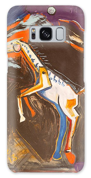 Trojan Horse Galaxy Case by Hans Magden
