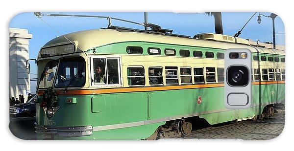 Trolley Number 1058 Galaxy Case