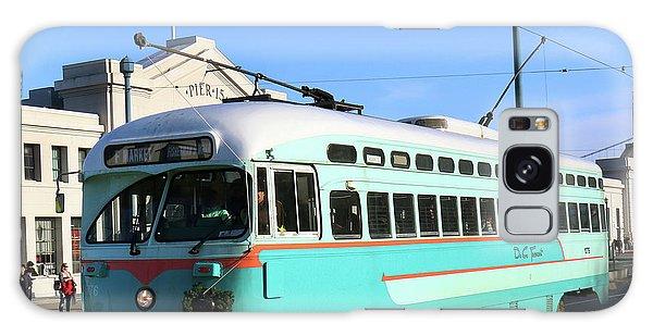 Trolley Number 1076 Galaxy Case