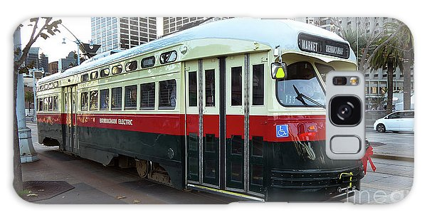 Trolley Number 1077 Galaxy Case