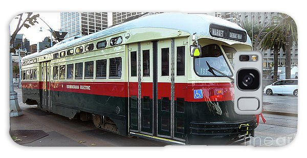 Trolley Number 1077 Galaxy Case