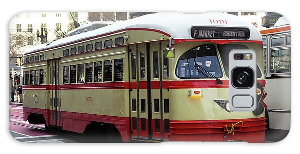 Trolley Number 1079 Galaxy Case