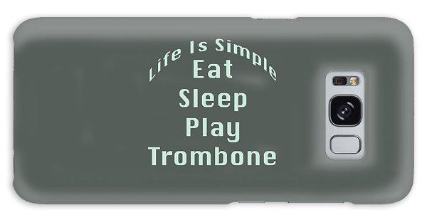 Trombone Eat Sleep Play Trombone 5518.02 Galaxy Case