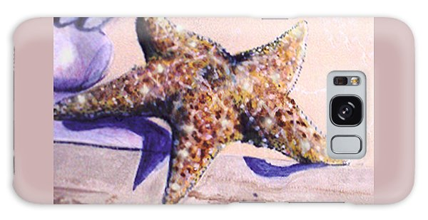 Trompe L'oeil Star Fish Galaxy Case