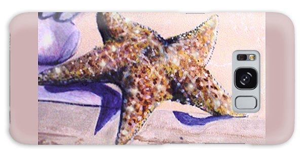 Trompe L'oeil Star Fish Galaxy Case