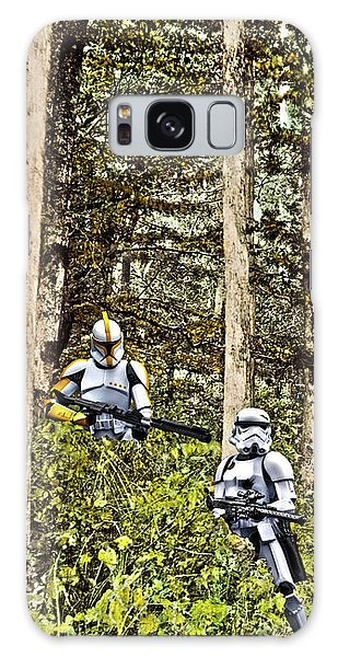 Troopers On The Planet Galaxy Case