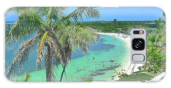 Tropic Beach Galaxy Case