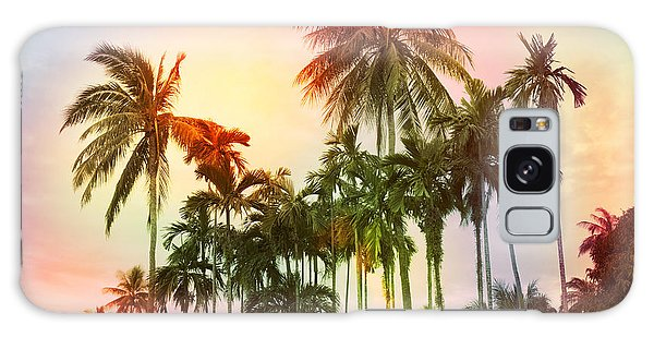 Vector Galaxy Case - Tropical 11 by Mark Ashkenazi