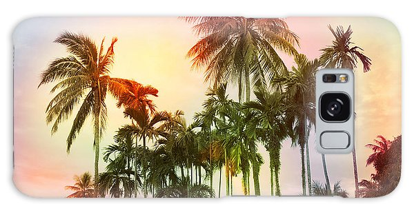 Tropical 11 Galaxy Case by Mark Ashkenazi