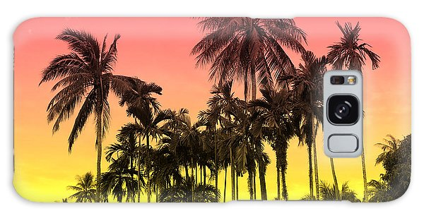 Vector Galaxy Case - Tropical 9 by Mark Ashkenazi