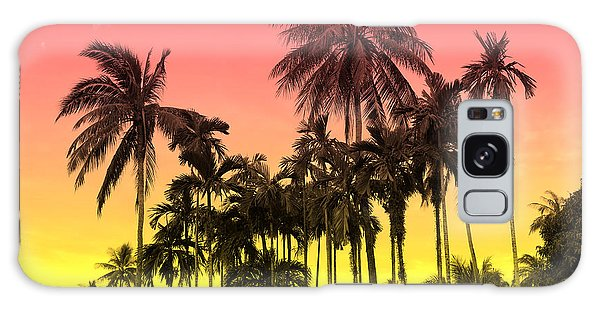 Tropical 9 Galaxy Case by Mark Ashkenazi