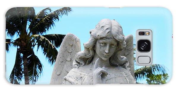 Tropical Angel With Tear Galaxy Case