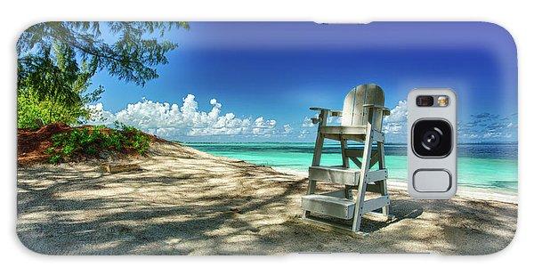 Tropical Beach Chair Galaxy Case