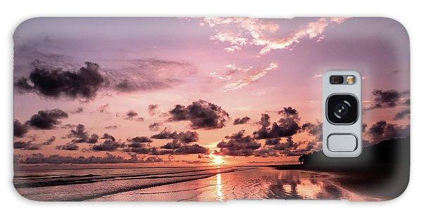 Tropical Beach Galaxy Case