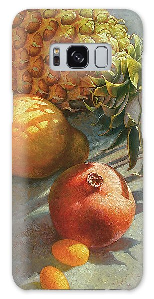 tropical Fruit Large Galaxy Case