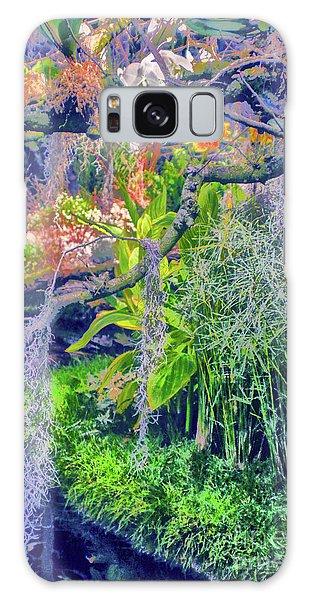 Tropical Garden Galaxy Case