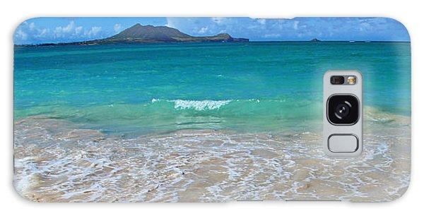 Tropical Hawaiian Shore Galaxy Case