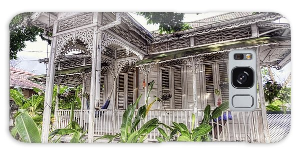 Tropical House Galaxy Case