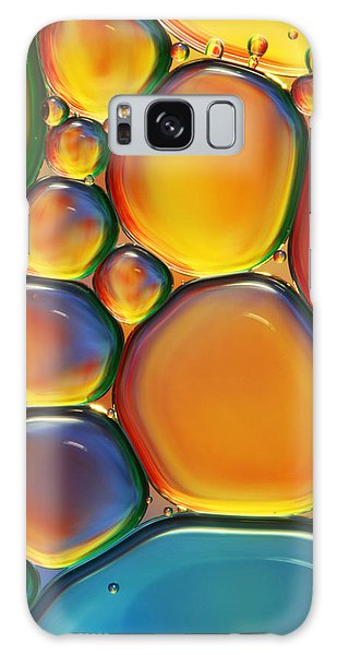 Bright Galaxy Case - Tropical Oil And Water II by Sharon Johnstone