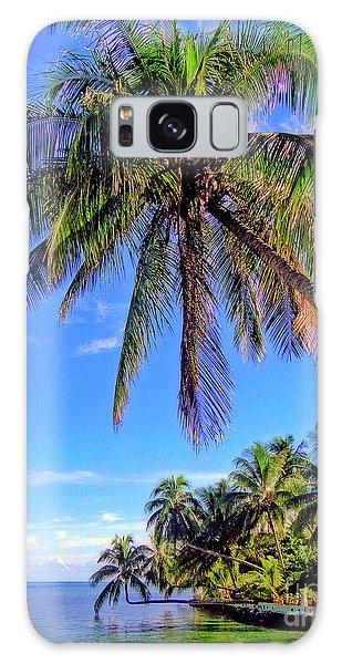 Tropical Palms Galaxy Case
