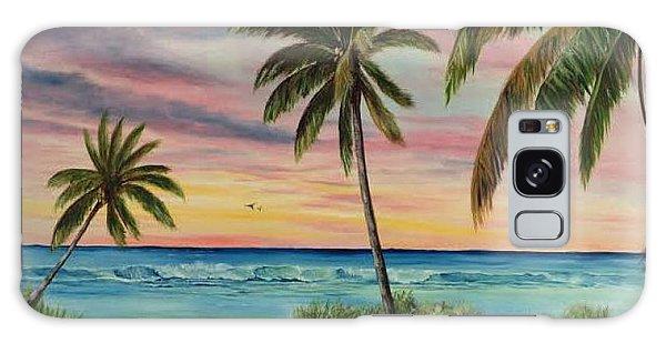 Tropical Paradise Galaxy Case