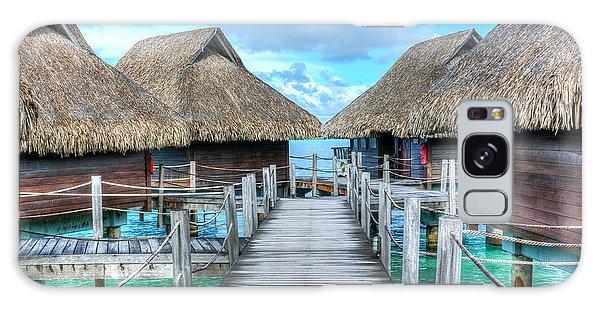 Tropical Resort Paradise Seascape Florida Keys 01 Galaxy Case
