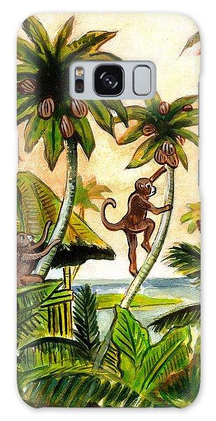 Tropical Scene Galaxy Case by John Keaton