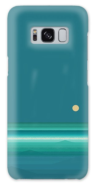 Tropical Sea Galaxy Case by Val Arie