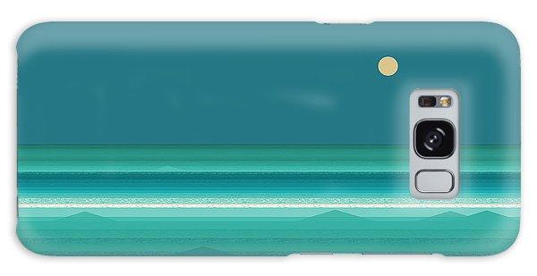 Tropical Seas Galaxy Case by Val Arie