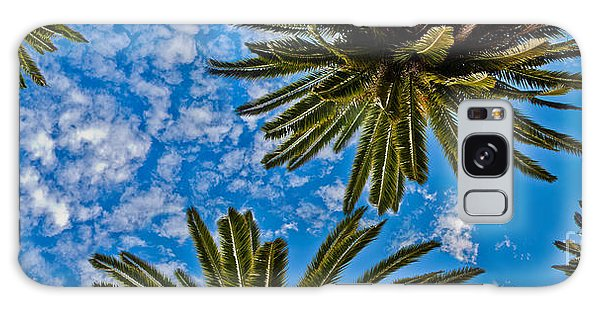 New Leaf Galaxy Case - Tropical Skies by Az Jackson