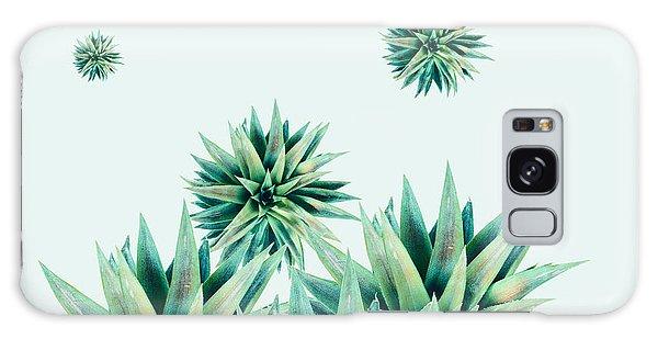 Green Leaf Galaxy Case - Tropical Stars  by Mark Ashkenazi