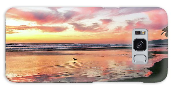 Tropical Sunset Island Bliss Seascape C8 Galaxy Case