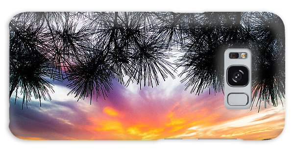Tropical Sunset  Galaxy Case
