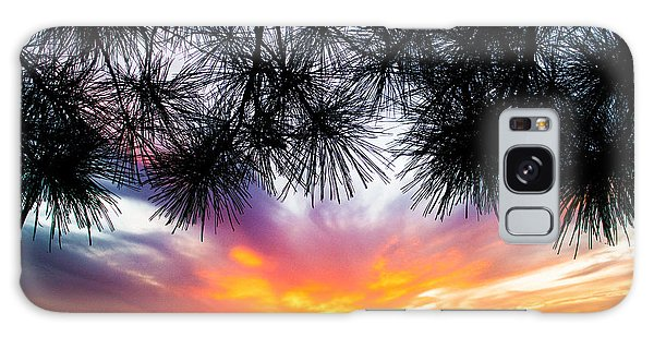 Tropical Sunset  Galaxy Case by Parker Cunningham