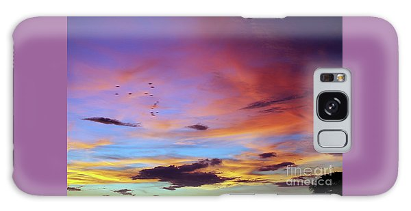 Tropical North Queensland Sunset Splendor  Galaxy Case