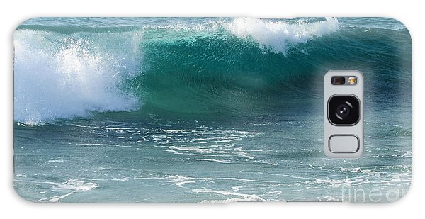 Tropical Treasure Coast Florida Seascape Wave 99 Galaxy Case