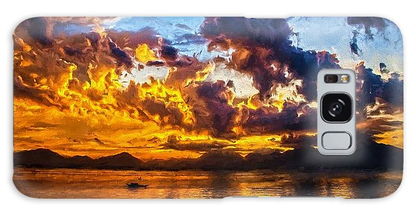 Tropical Twilight I Galaxy Case